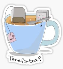 Time for tea? Sticker