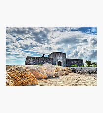 Fort Montagu in Nassau, The Bahamas Photographic Print