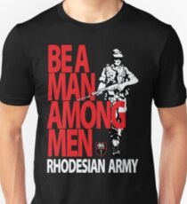 Rhodesian Army Recruiting Poster Graphic T-Shirt