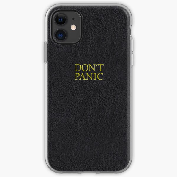Hitchhiker's Guide (Earth Edition) iPhone Soft Case