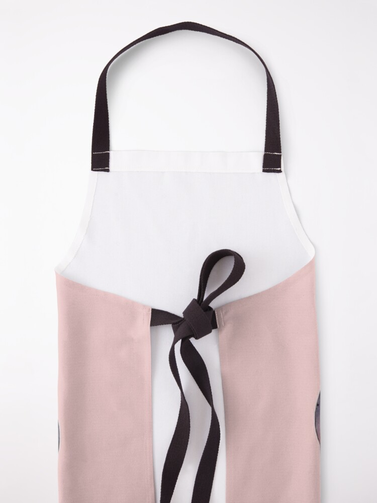 Alternate view of Cat wearing Rosy Glasses Apron
