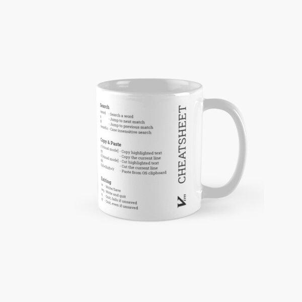Vim Cheat sheet Classic Mug
