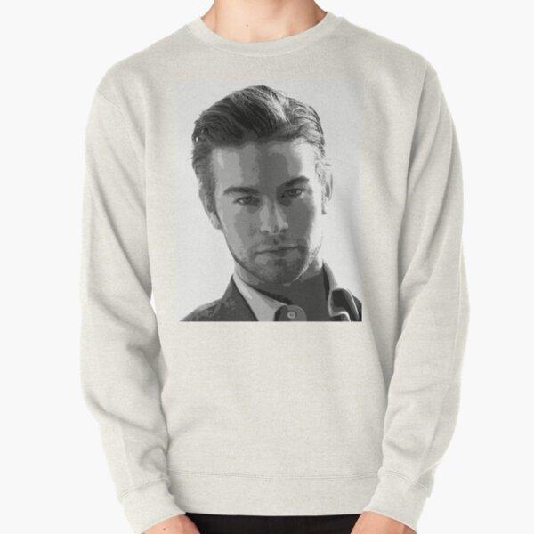 Chace Crawford Black & White Pop Art Portrait Pullover Sweatshirt