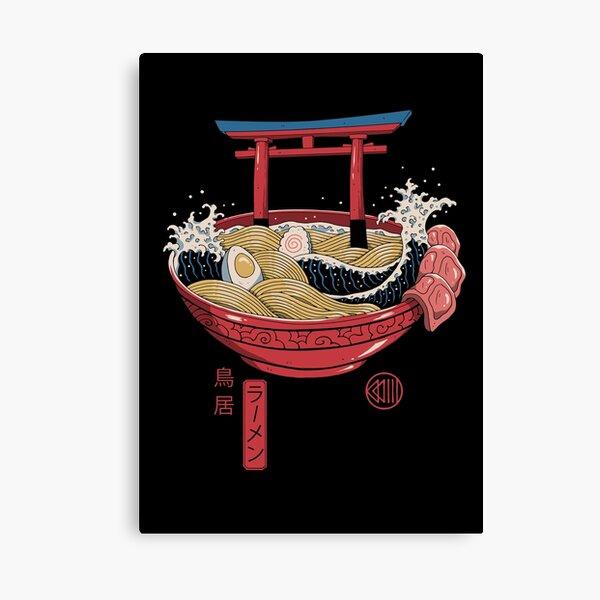 Sacred Ramen Canvas Print