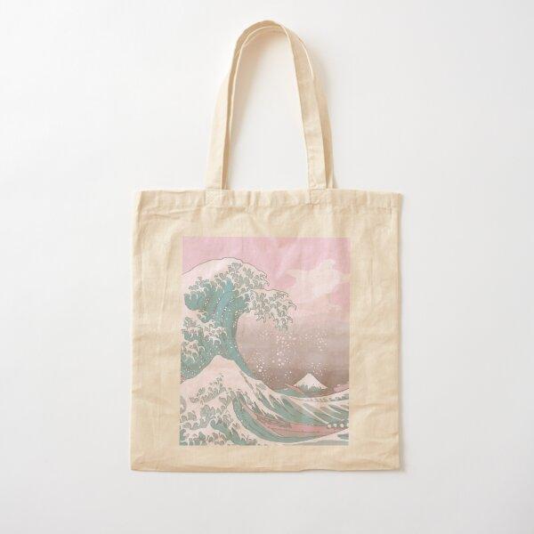 Pastel La Grande Vague au large de Kanagawa Tote bag classique