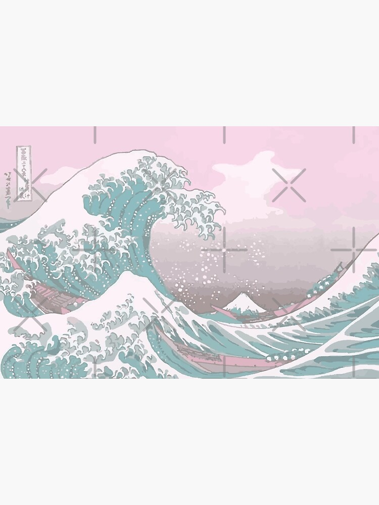 Pastel The Great Wave off Kanagawa by Freshfroot