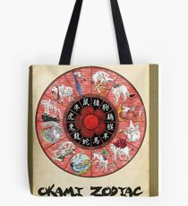 Okami Zodiac Wheel Tote Bag
