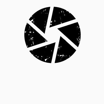 Iris Logo, black by photographytees