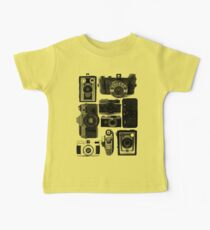Old Cameras Baby Tee