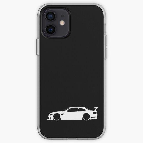 E92 GTR German Lemans Funda blanda para iPhone