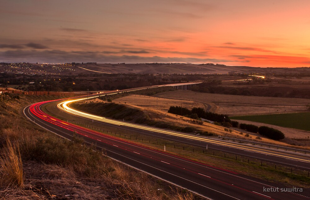 evening at geelong ring road by ketut suwitra