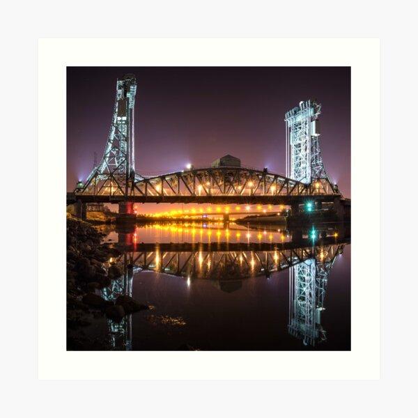 Newport Bridge Art Print