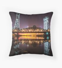 Newport Bridge Throw Pillow