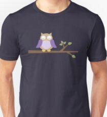 Spring Owl Slim Fit T-Shirt