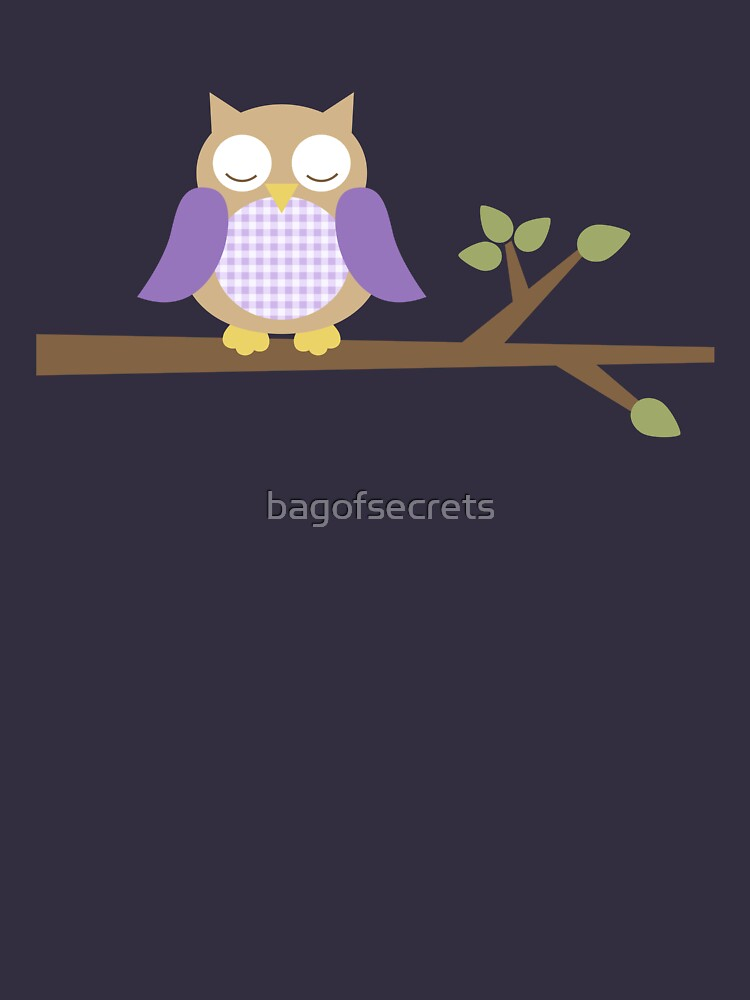 Spring Owl by bagofsecrets