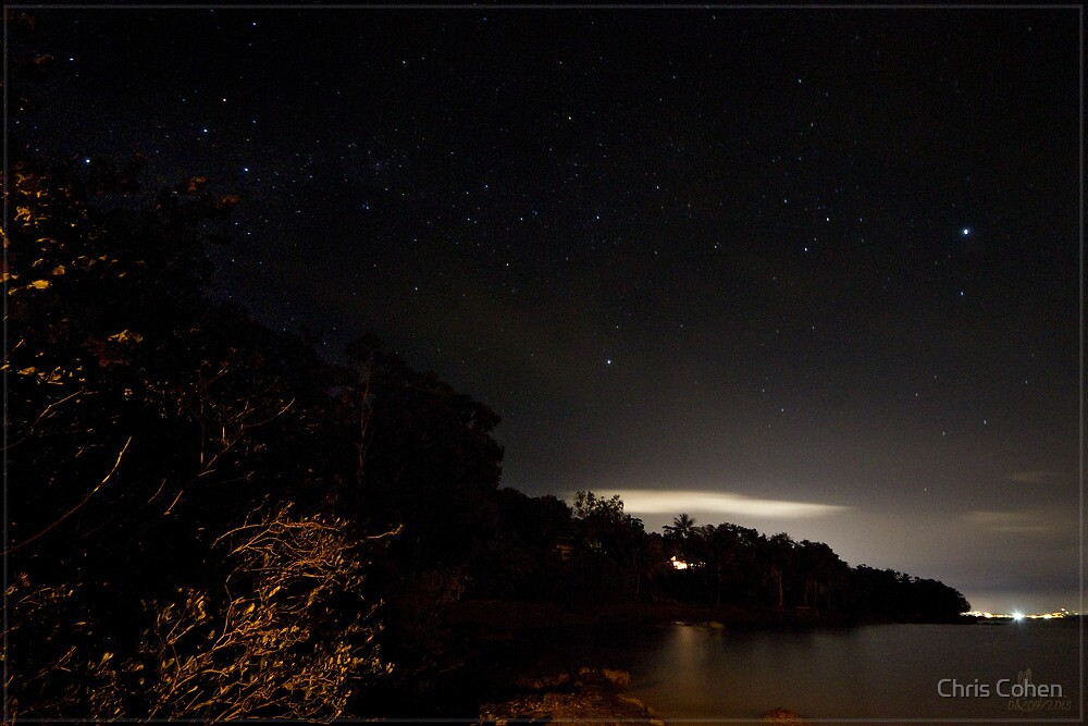 Second Beach Sky @ Night by Chris Cohen