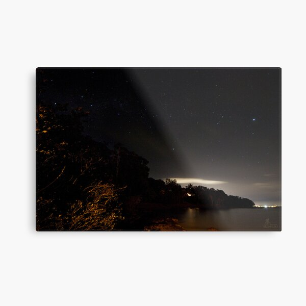Second Beach Sky @ Night Metal Print