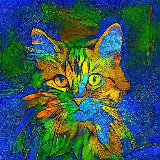 Abstractions of abstract abstraction of cat