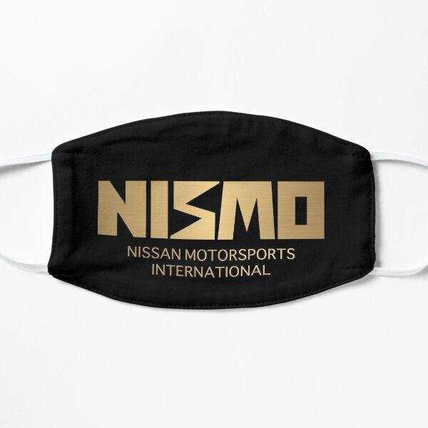 Logo Nismo Nissan Motorsport rétro or et noir Masque sans plis