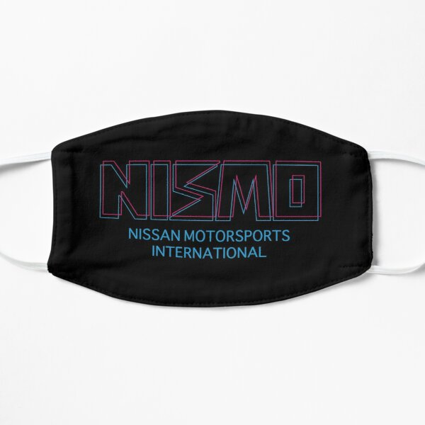 Retro Nismo Nissan Motorsport International Logo Flat Mask