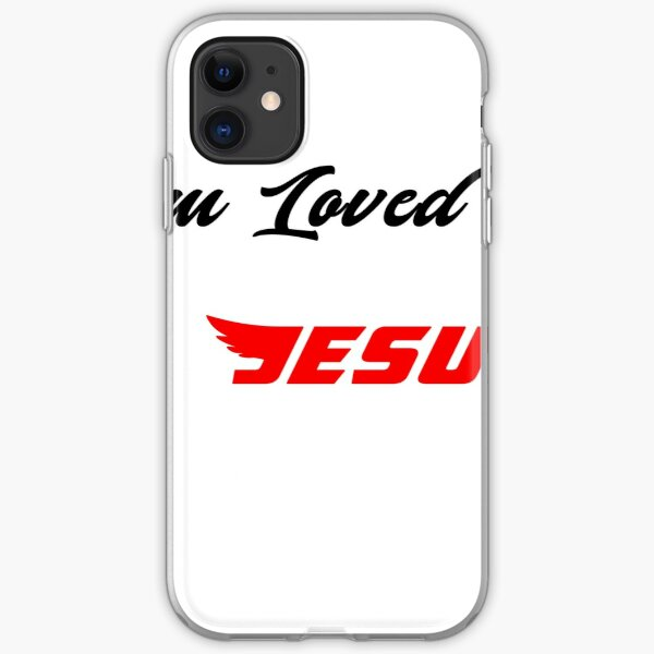 I am loved by jesus iPhone Soft Case