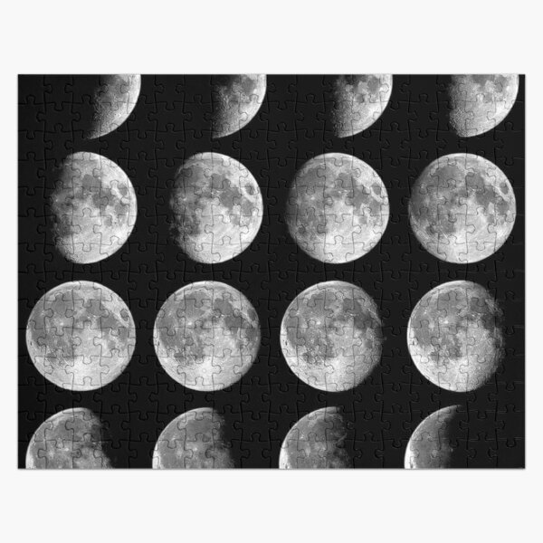 Moon Phases Jigsaw Puzzle