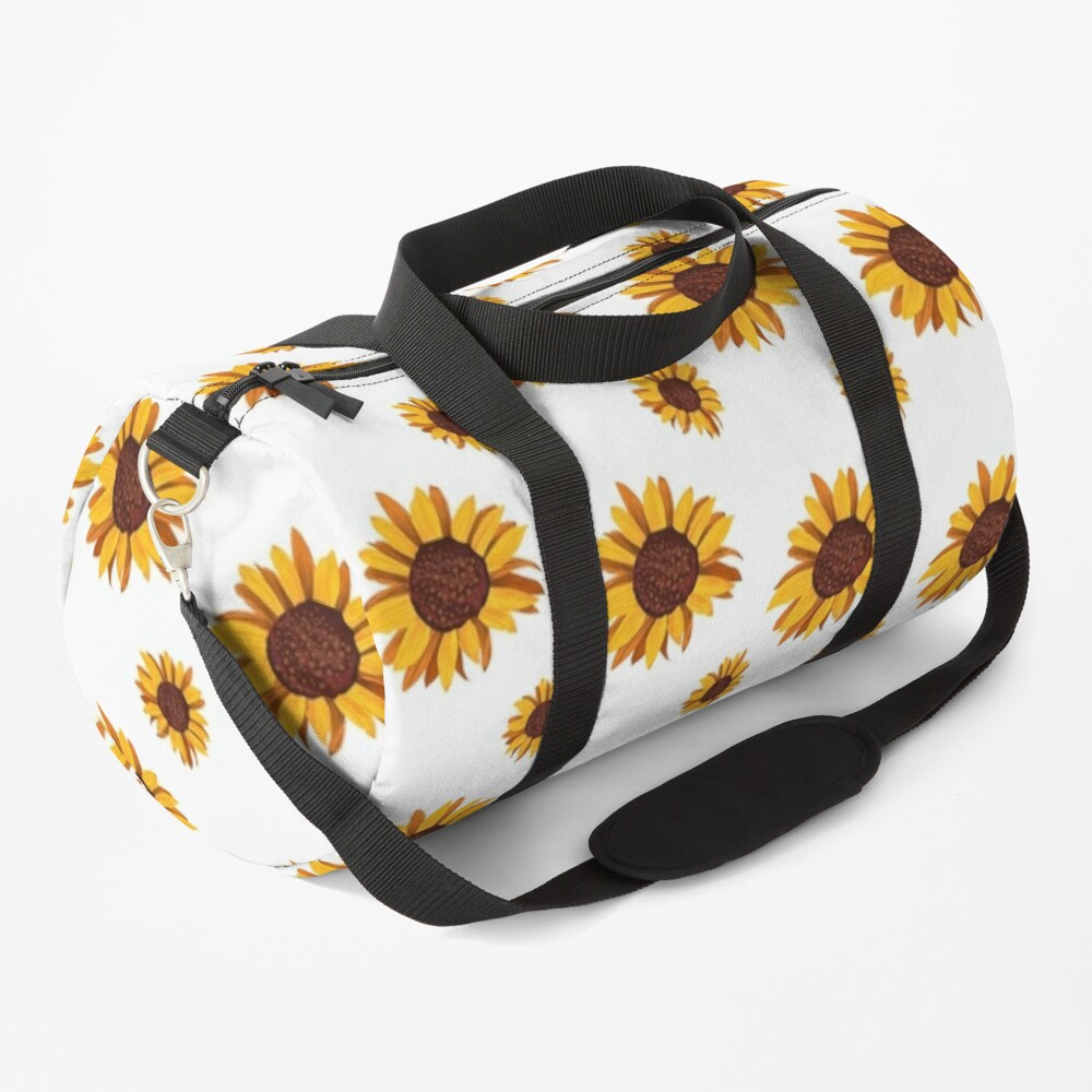 CUTE SEAMLESS SUNFLOWER PATTERN  Duffle Bag