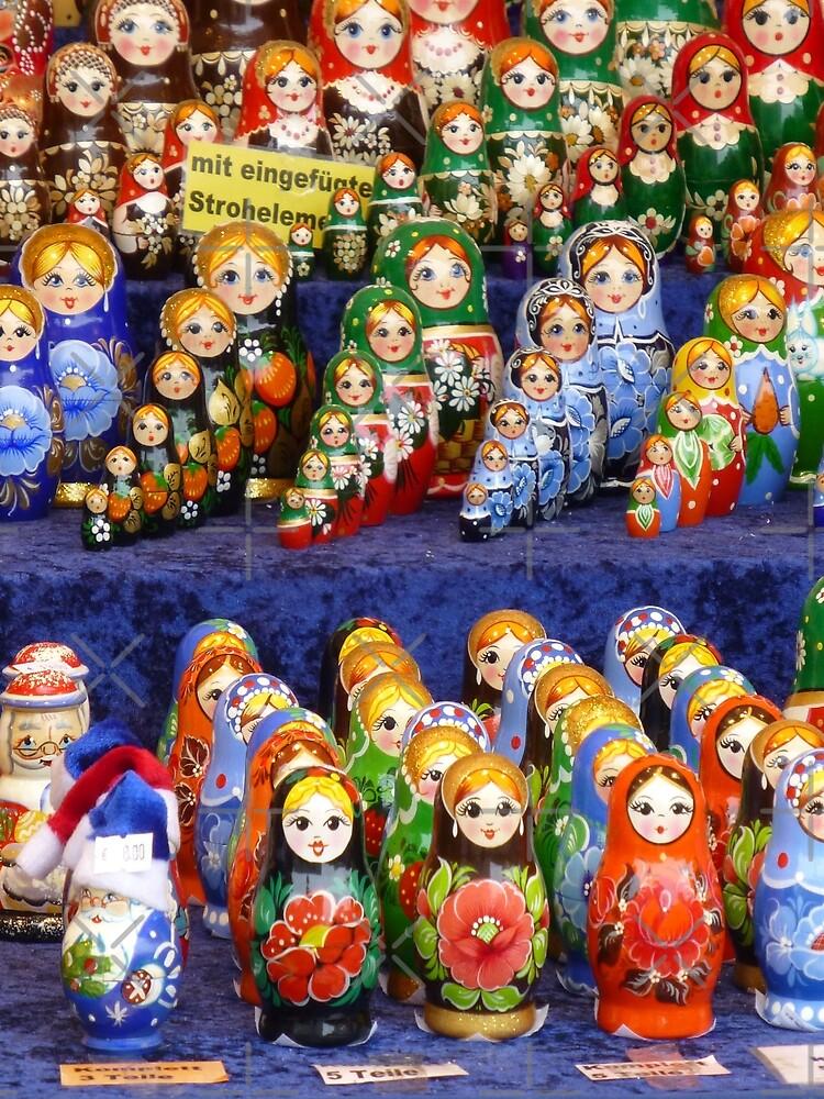 German Wooden Dolls by JoyAndValorLife