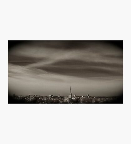Norwich from a viewpoint Photographic Print