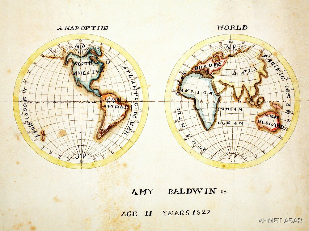 A Map of the World  Amy Baldwin sc by MotionAge Media