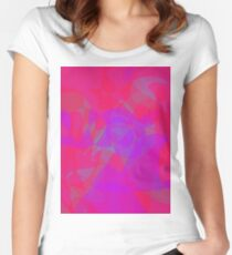 Rose at Night Women's Fitted Scoop T-Shirt