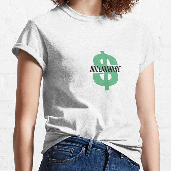 I/'m not millionaire but I spend like one funny t shirt for Dad Gift Men Women