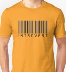 Introvert Barcode T-Shirt