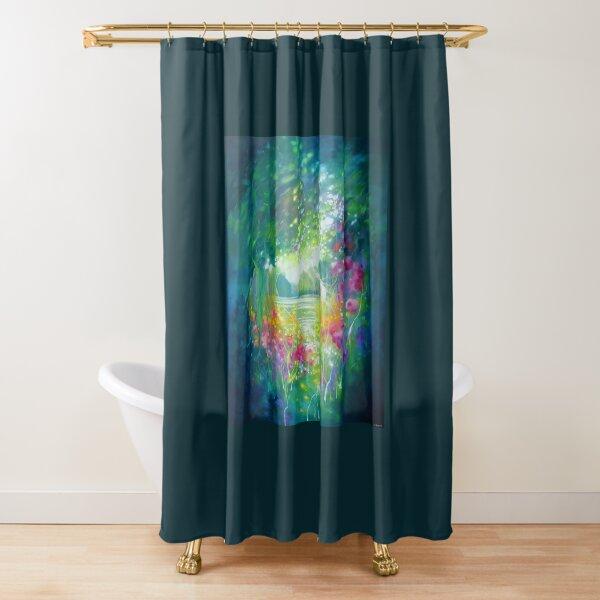 The Owls Secret Garden Shower Curtain