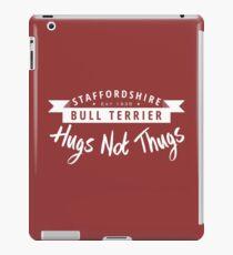 Staffie Hugs not Thugs iPad Case/Skin