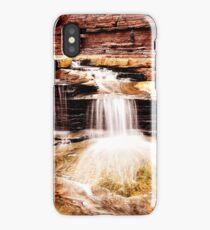 Waterfall, Hancock gorge iPhone Case/Skin
