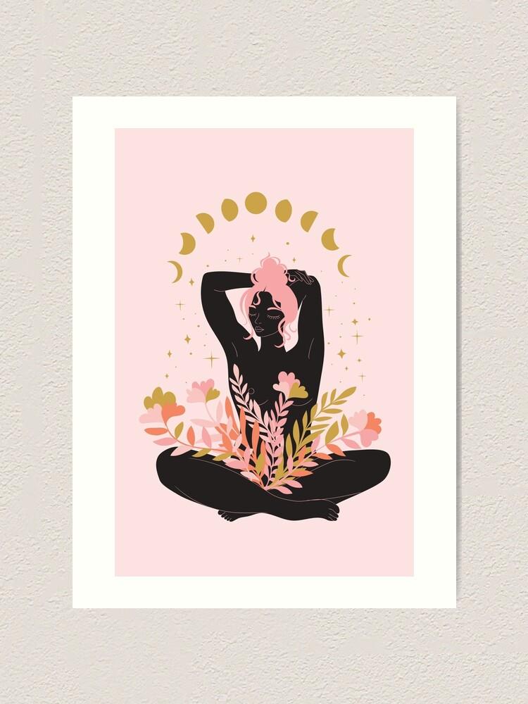 Alternate view of take a deep breath Art Print