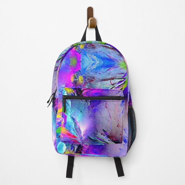 VIBRANT MULTICOLOR ABSTRACTO Backpack