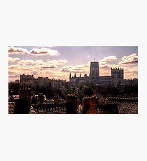 Durham City Skyline Wall Art Redbubble