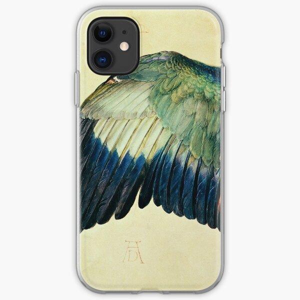 Albrecht Durer - Wing Of A Blue Roller iPhone Soft Case