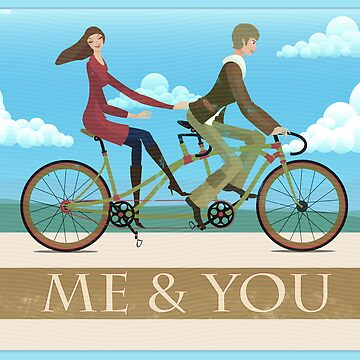 Me & You Bike by AndyScullion