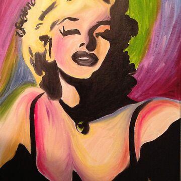 Marilyn Monroe- Tiffani Style. by Tiffani