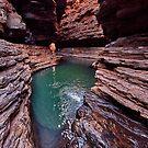 Kermits pool, Hancock gorge by Colin White