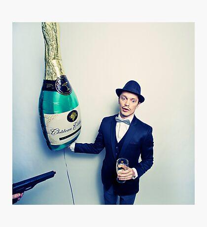 Champagne Mafia Photographic Print