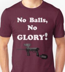 Paintball. No Balls No Glory. WHI. T-Shirt