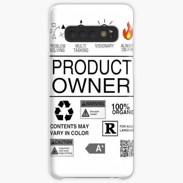Product Owner Samsung Galaxy Snap Case