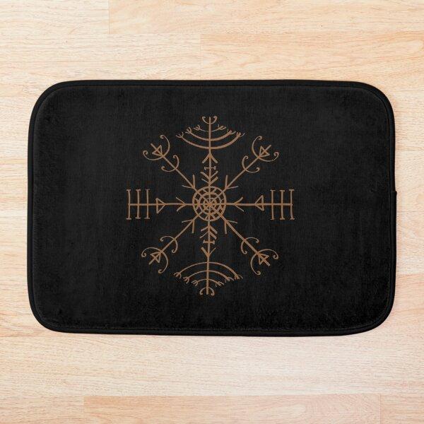 Veldismagn, Icelandic Bind Rune, Protection, Health & Good Luck Bath Mat