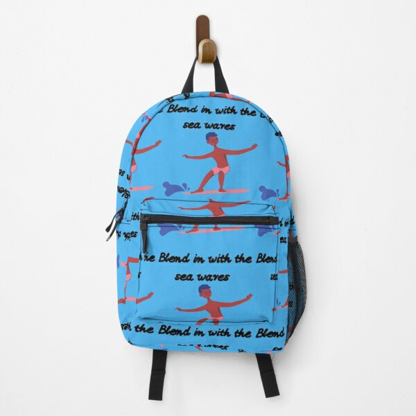 Blend in With the sea wares Backpack