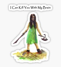 River Tam I Can Kill You With My Brain T-shirt Sticker
