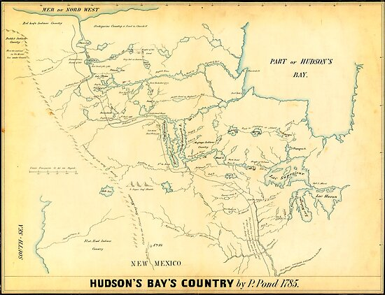 Canada USA Maps  Manuscript Early works to 1800. by MotionAge Media